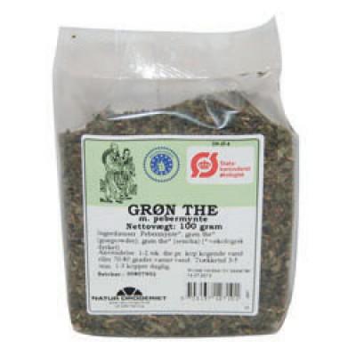 Grøn Te M. Pebermynte • 100 g.