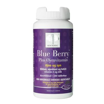 Blue Berry Plus Øjenvitamin • 240 tabl.