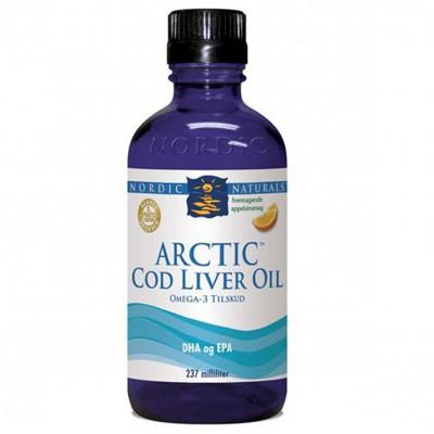 Arctic Cod Liver Oil m. appelsin • 473 ml.