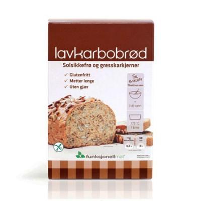 Brødmix glutenfri Lowcarb-brød  • 250 g.