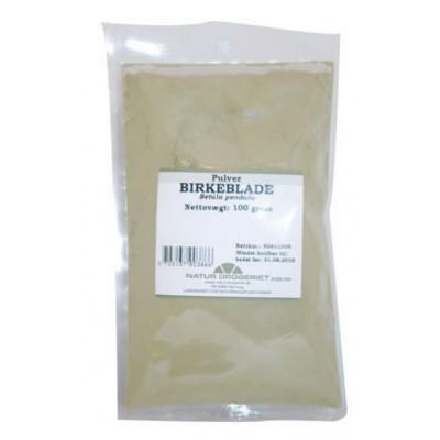 Birkeblade pulver • 100 g.