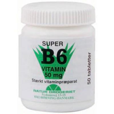 B6-vitamin 50 mg