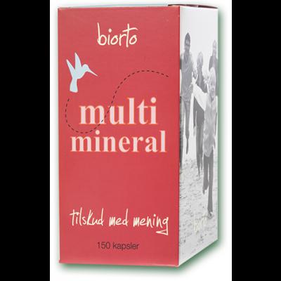 Biorto Multimineral • 150 kaps.