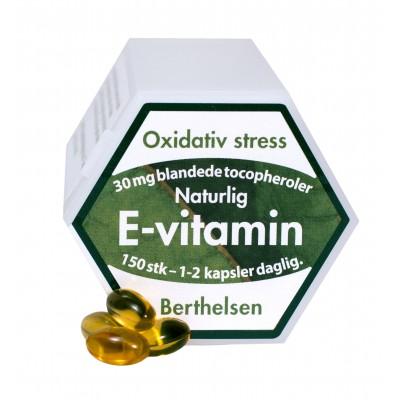 Bethelsen E-vitamin 30 mg