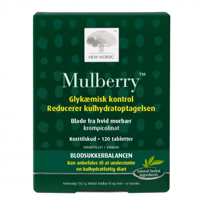 New Nordic Mulberry • 120 tabl.