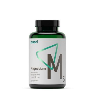 Puori Magnesium M3 • 120 kaps.
