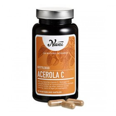Nani Acerola C-vitamin • 90 kap.