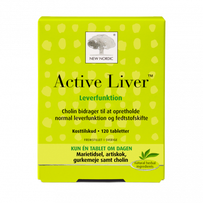New Nordic Active Liver™ 120 tabletter