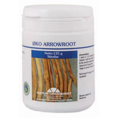 ND Arrowroot Pulver Ø • 125 g.
