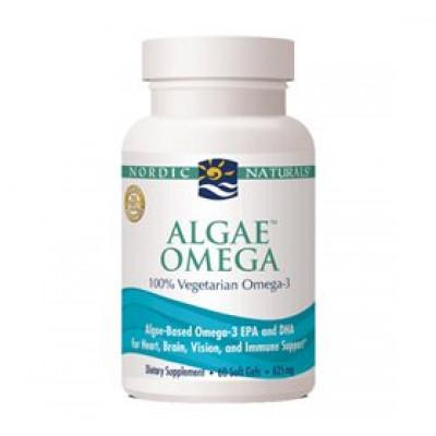 Nordic Naturals Algae Omega 3 • 60 kap.