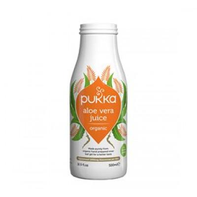 Pukka Aloe vera juice Ø Koldpresset - ikke filtreret • 500ml.