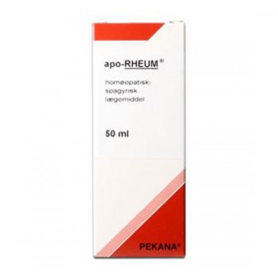 Pekana Apo rheum • 50ml.