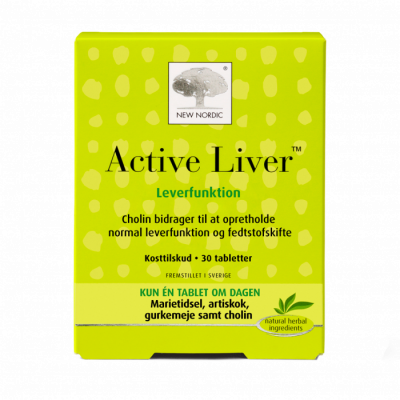 New Nordic Active Liver™ 60 tabletter