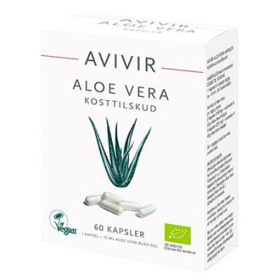 Avivir Aloe Vera kapsler Ø • 60 kap.