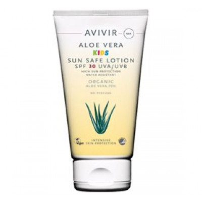 Avivir Aloe Vera Kids sun lotion SPF 30 • 150 ml.