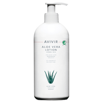 Avivir Aloe Vera Lotion 90% m. pumpe • 500 ml.