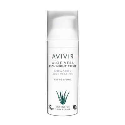 Avivir Aloe Vera Night creme rich