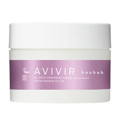 Avivir Baobab creme myrtle pampering all body