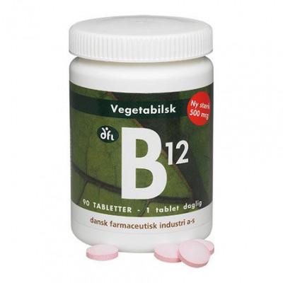 B12 vitamin 500 mcg • 90 tabl.