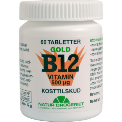ND B12 Vitamin Gold 60 tabletter