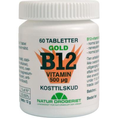 ND B12 Vitamin Gold 60 tabletter