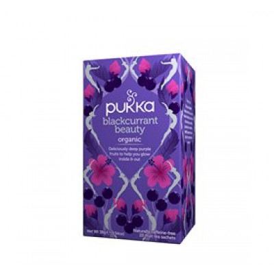 Pukka Blackcurrant Beauty te Ø • 20 br.