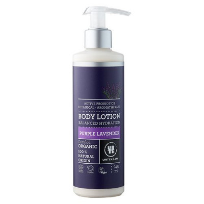 Urtekram Bodylotion Purple Lavender • 245ml.