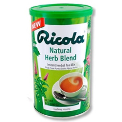 Ricola Swiss Herb Te Instant • 200 g.