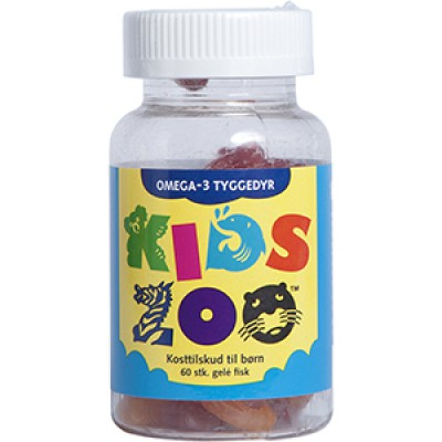 Kids Zoo Omega 3 • 60 stk.