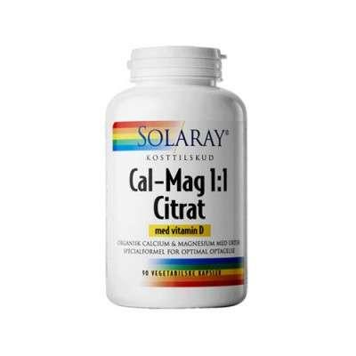 Cal-Mag Citrat m. D-vitamin 90 kaps.