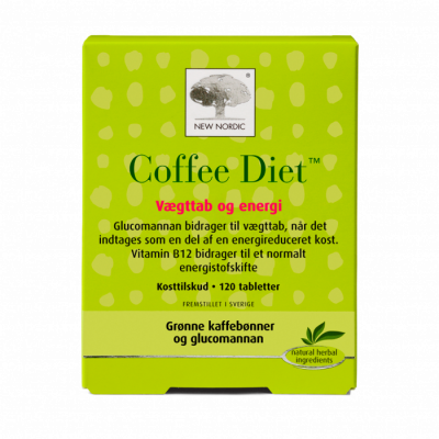 New Nordic Coffee Diet™ 120 tabletter