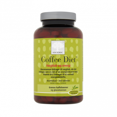 New Nordic Coffee Diet 360 stk. - Datovare