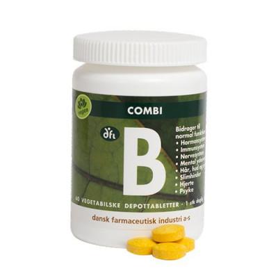 DFI Combi B depottablet • 60 tabletter