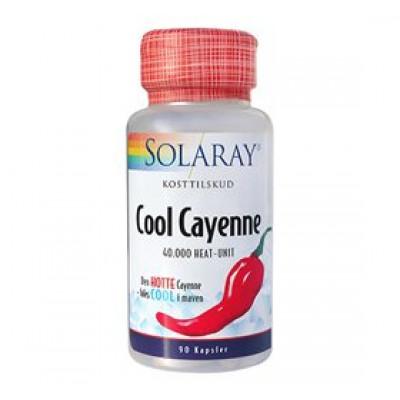 Solaray Cool Cayenne • 90 kap.