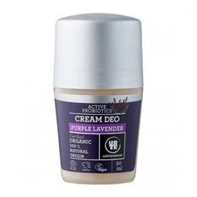 Urtekram Cream deo Purple Lavender • 50ml.