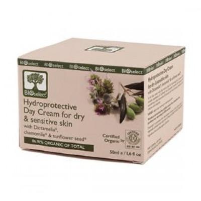 Bioselect Dagcreme tør og følsom hud BioEco • 50ml.
