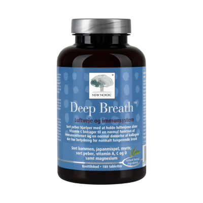 New Nordic Deep Breath™-180 tabletter