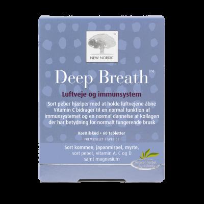 New Nordic Deep Breath™ 60 tabletter