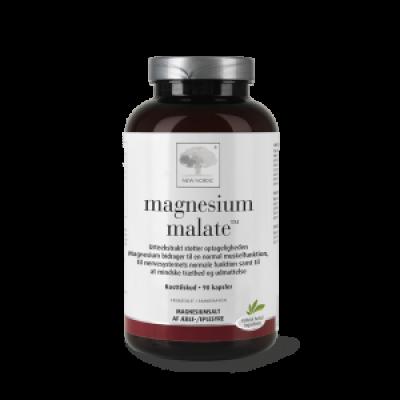 New Nordic Magnesium Malat • 90 kapsler