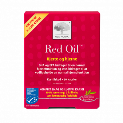 New Nordic Red Oil™ omega 3 - 60 kapsler