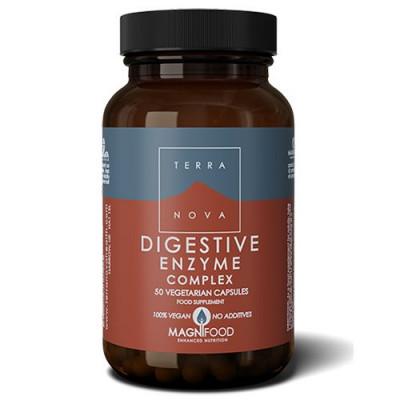 Terranova Digestive enzyme complex • 50 kapsler