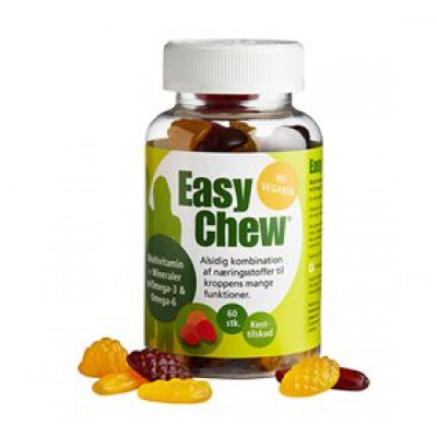 EasyChew Multivitamin m. omega 3 • 60 stk.