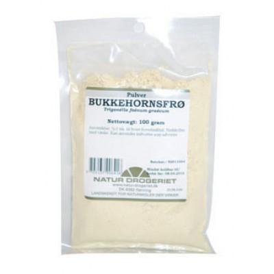 Bukkehornsfrø Pulver • 100 g.