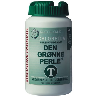 Chlorella - Den Grønne Perle Pulver