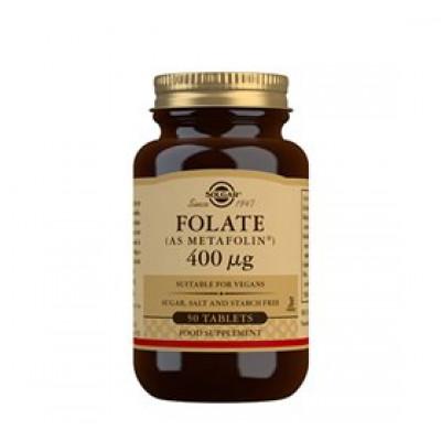 Solgar Folat (Metafolin) 400ug