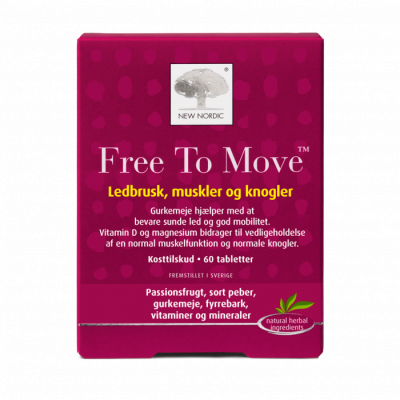 New Nordic Free To Move • 60 tabl.