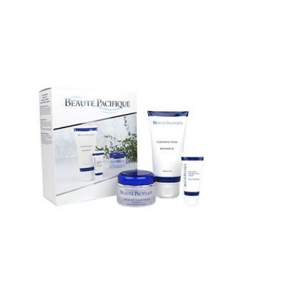 Beaute Pacifique Gaveæske A-vitamin Metamorphique 50ml, Renseskum 150ml & Fugtmaske 20ml