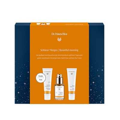 Dr. Hauschka gaveæske Cleansing Cream, Facial Toner, Day Creme