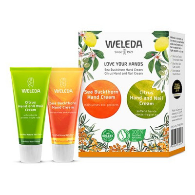 Weleda Gaveæske Love your hands Sea buckthorn, Citrus Hand & Nail