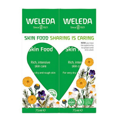Weleda Gaveæske Skin Food Duo pakke 2x75 ml.